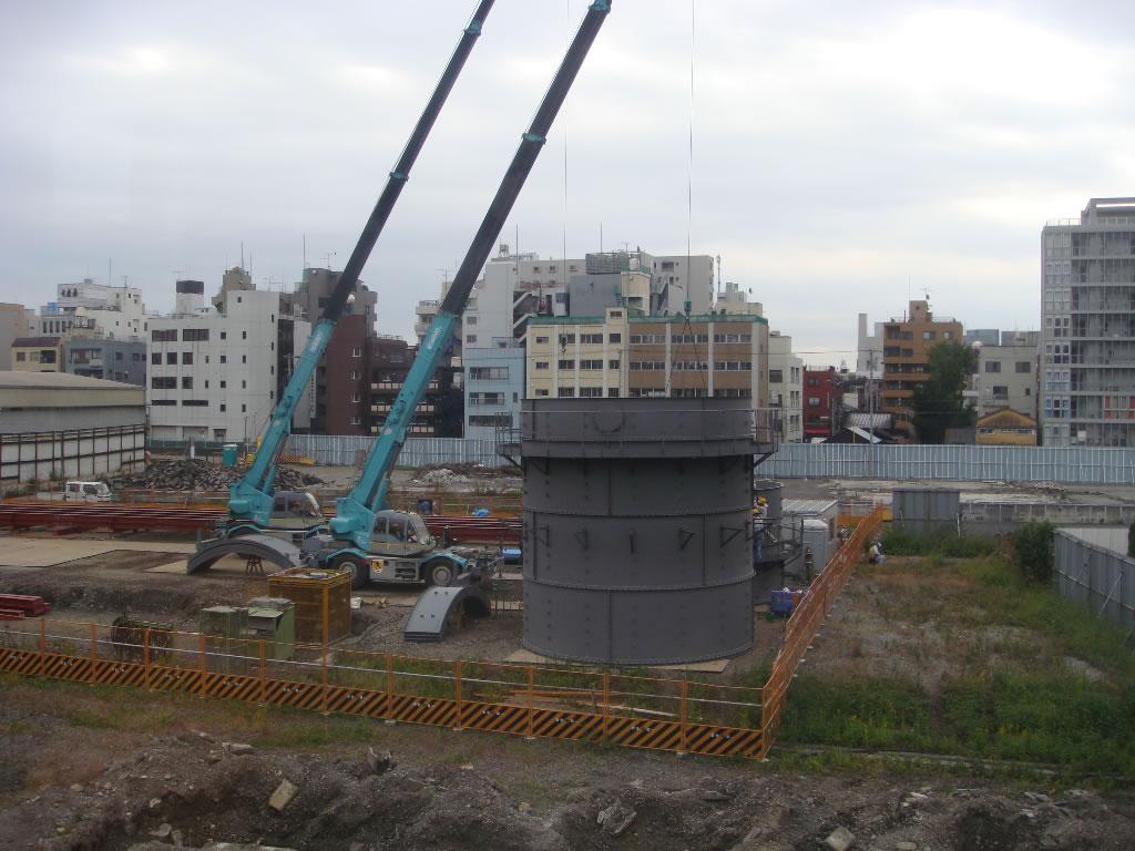 新東京タワー建設写真