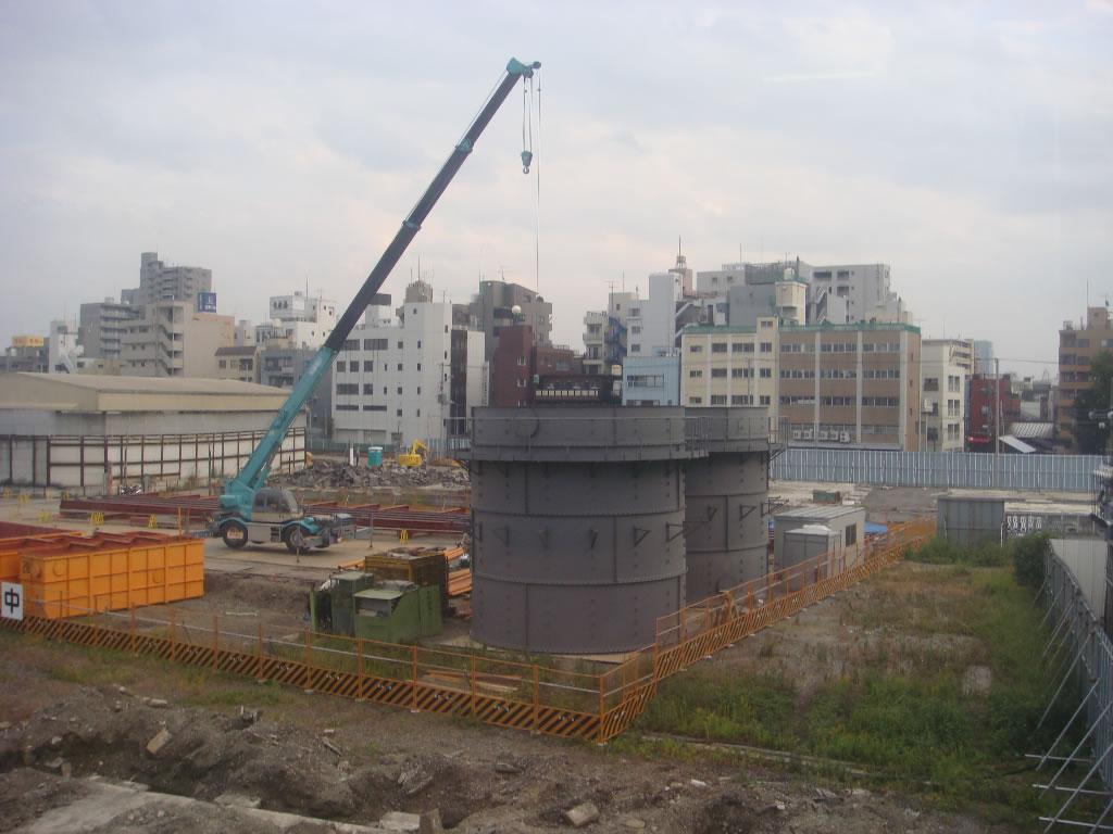 新東京タワー建設の写真