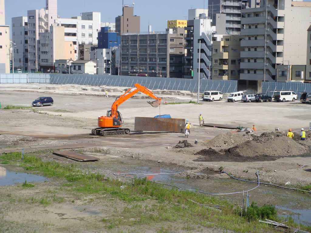 新東京タワー建設現場