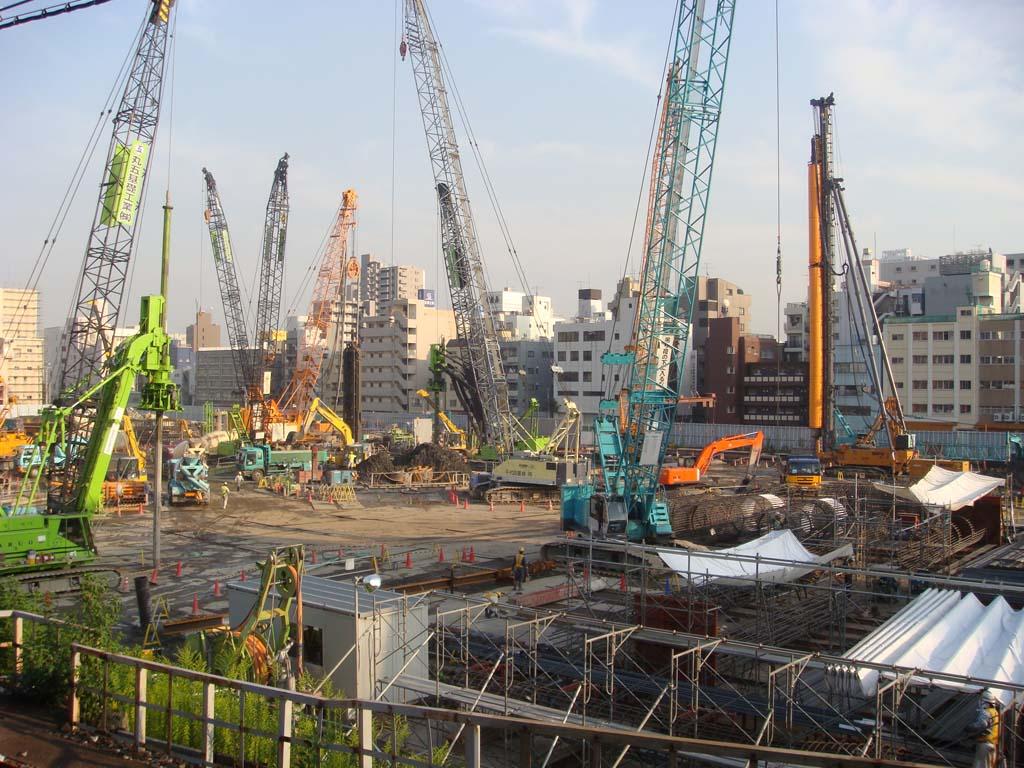 東京スカイツリー 建設