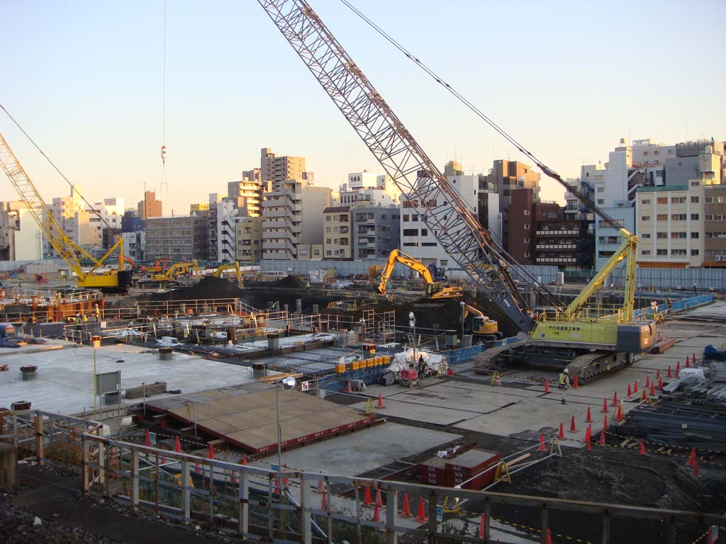 東京スカイツリー 基礎工事