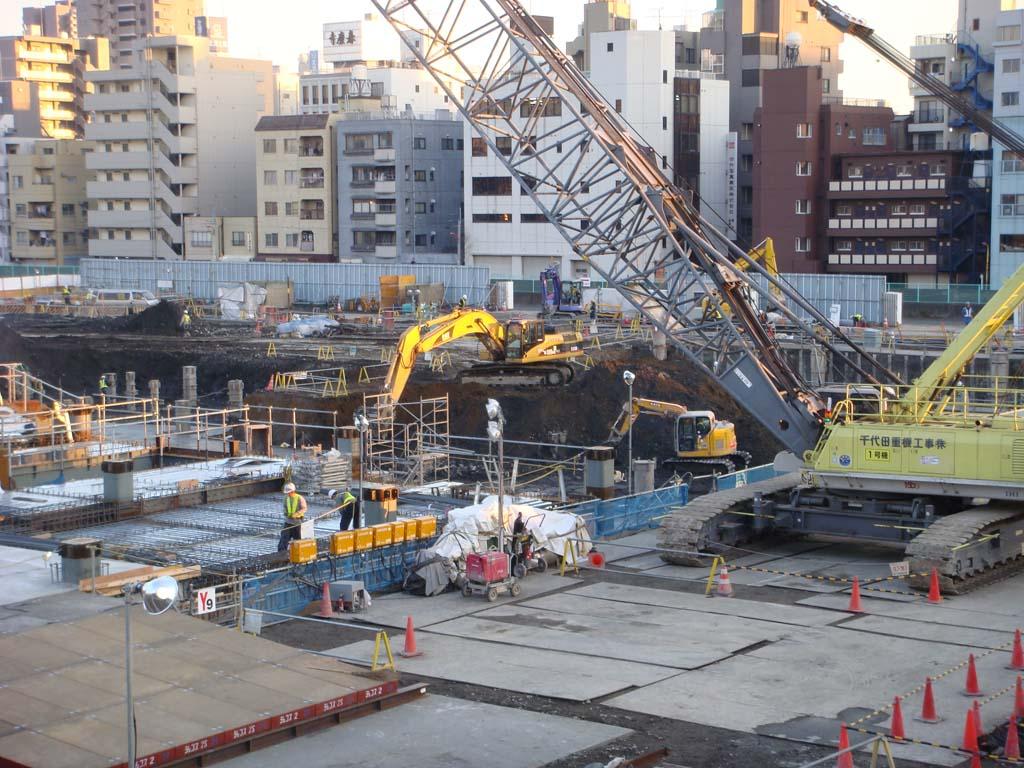 新東京タワー 基礎工事