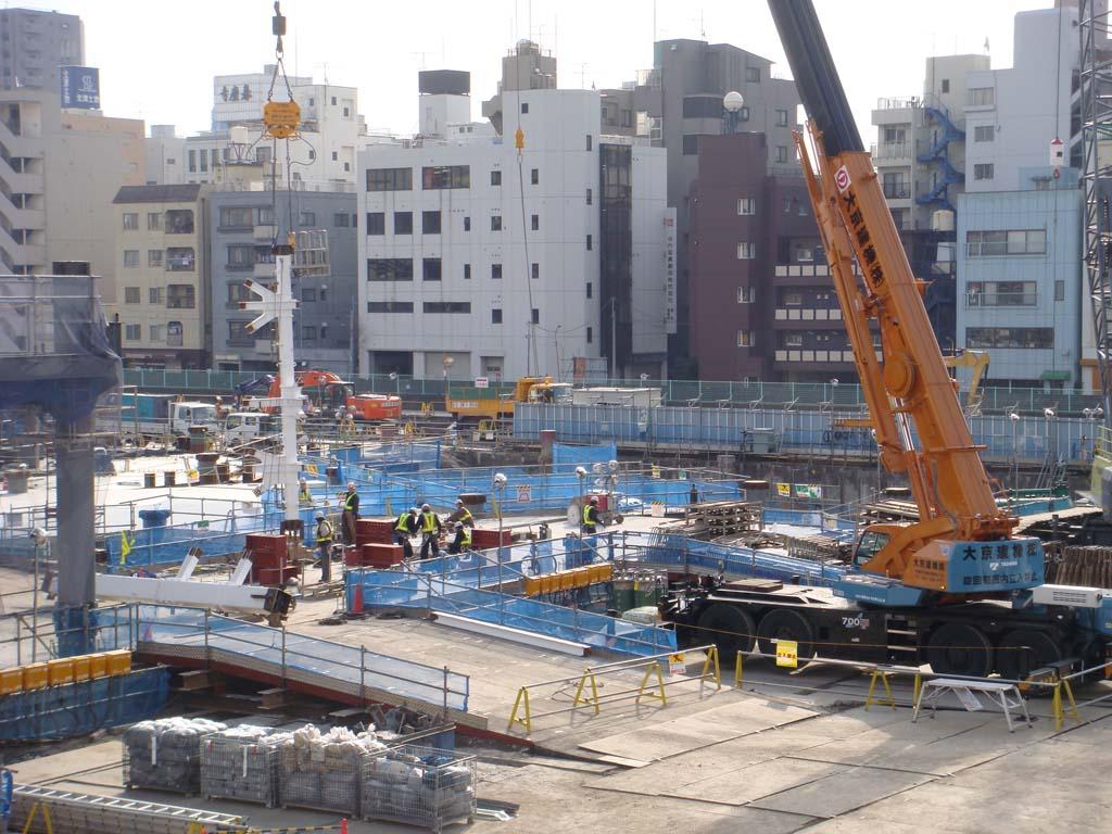 東京スカイツリー 建設写真