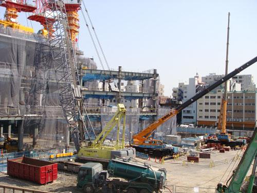 東京スカイツリーの建設