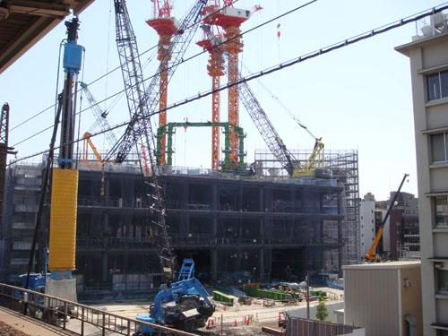 東京スカイツリー 建設中